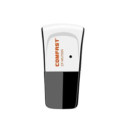 Comfast CF-WU720N 2,4 GHz 802.11b/g/n 150Mbps USB 2.0 Bezdrátové připojení Wi-Fi Network Adapter - Black