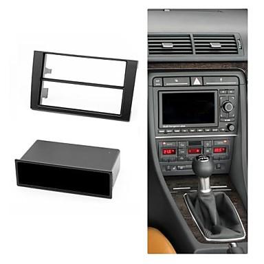 Radio Fascia Facia Trim installation Kit for AUDI A4 B6 2002-2006 A4 B7  2004-2009 SEAT Exeo 2009+ w/pocket