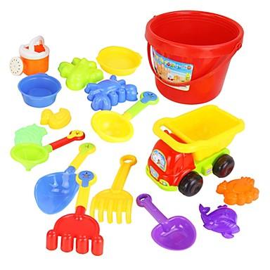 voordelige water Speeltjes-17 Stuks Kleurrijke Verschillende soorten Beach Toy Set