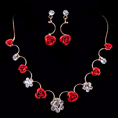 Women's Others Jewelry Set Earrings / Necklace - Regular For Wedding / Party / Special Occasion