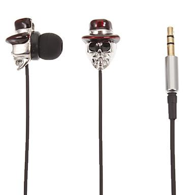 Lubanja stereo u obliku slova U-uho slušalice (Red Hat)