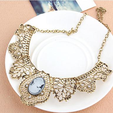 Naisten Collar Metalliseos Kultainen Korut Varten Päivittäin Kausaliteetti 1kpl