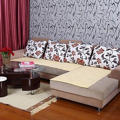 Elaine puhdasta puuvillaa keltainen sohva tyyny 333935