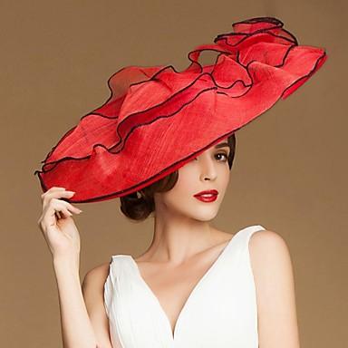 Fashional In Femei Nunta / Despărțirea / luna de miere Hat cu motive florale (Mai multe culori)