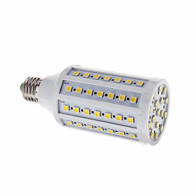 LED corn žárovky T 86 lED diody SMD 5050 Teplá bílá 1032lm 3000-3500K AC 220-240V