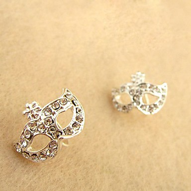 Earring Stud Earrings Jewelry Party / Daily / Casual Alloy Silver