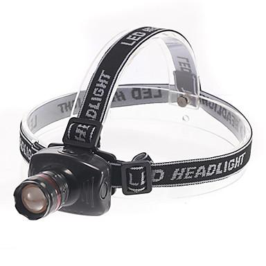 Belysning Pandelamper LED 180 Lumen 3 Tilstand - AAA Justerbart Fokus Multifunktion Plastik