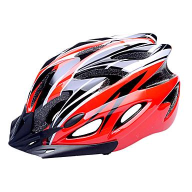 FJQXZ Bike Helmet 18 Vents Cycling Half Shell Sports PC EPS Road Cycling Cycling / Bike