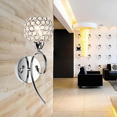 Moderno - Contemporaneo Lampade Da Parete Metallo Luce A Muro 110-120v - 220-240v 40w #01269243 Non-Stireria