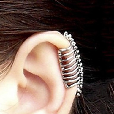 Women's Ear Cuffs Alloy Skull Jewelry Party Daily Casual Costume Jewelry