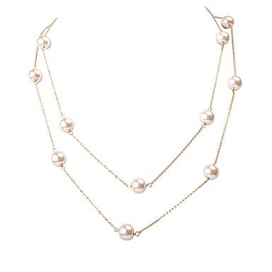 JANE STONE Gold Chain prirodna voda Biser Ogrlica svadbeni nakit