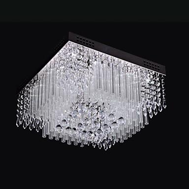 SL® 埋込式 アンビエントライト クロム メタル クリスタル, LED 110-120V / 220-240V White LED光源を含む / 集積LED / 集積LED