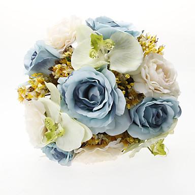 Flori de Nuntă Buchete Nuntă Party / Seara Tul Mătase  Satin 11.8
