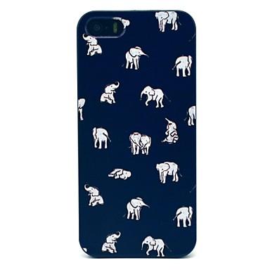 iPhone 7, plus elefanți indian model greu caz pentru iPhone 5 / 5s