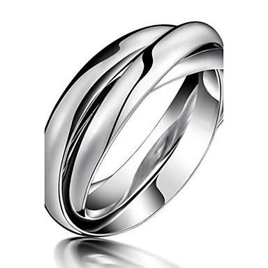 Damen Titanstahl Eheringe - Modisch Ring Für Party / Alltag / Normal