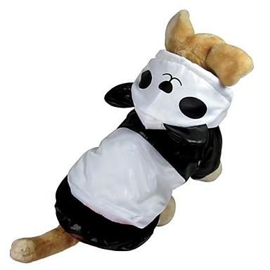 Kat Hund Kostume Hættetrøjer Regnfrakke Hundetøj Sødt Cosplay Vanntett Dyr Hvid Kostume For kæledyr