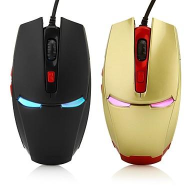 Wired Gaming Mouse DPI Adjustable Backlit 2400