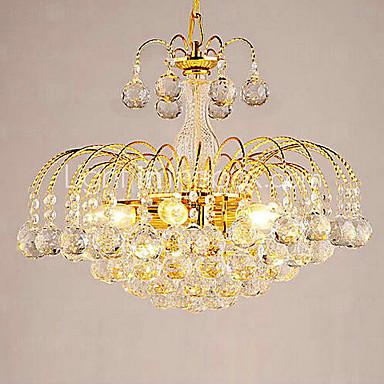 Europsko-Style luksuzan 3 Svjetla luster s Crystal Balls