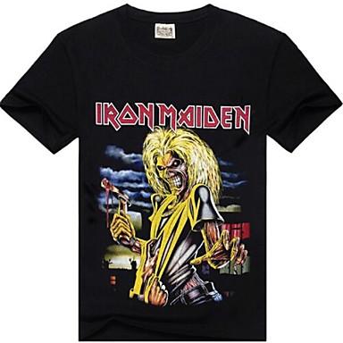 daf38721e48b Ανδρικά ROCKSIR ® γύρω από το περιλαίμιο Iron Maiden Εκτύπωση T-shirt