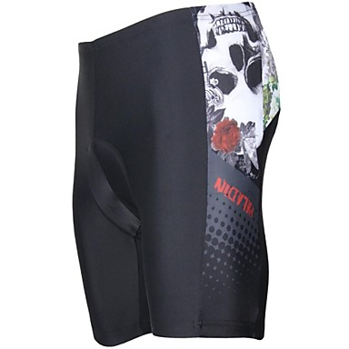 ILPALADINO Cycling Padded Shorts Men's Bike Padded Shorts/Chamois Shorts Bottoms Bike Wear Ultraviolet Resistant Breathable 3D Pad Animal