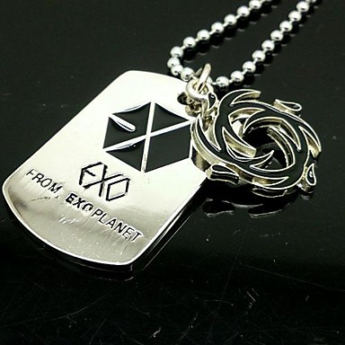 Halloween Props Cosplay Accessories EXO SEHUN Wind Power Alloy Necklace
