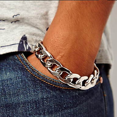 Others Chain Bracelet - Unique Design Fashion Silver Golden Bracelet For Christmas Gifts Party Daily