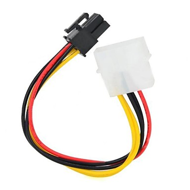 IDE 4pin la 6pin Graphics Power Adapter Cable