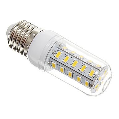 650lm E26 / E27 LED corn žárovky T 36 LED korálky SMD 5730 Teplá bílá 220-240V / #