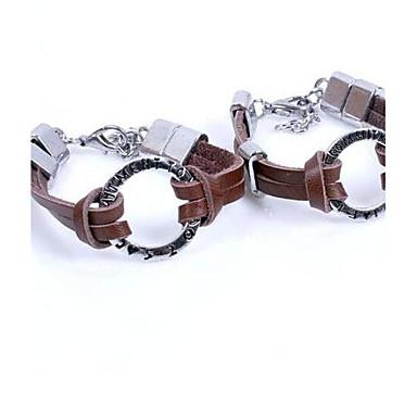 Couple's New Fashion Leather Bracelet