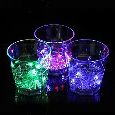 coway de bar gewijd lichtgevende led nachtlampje achthoekige glazen