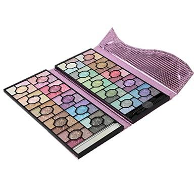 100 Oogschaduwpalet Droog / Mat / Glinstering / Mineraal Oogschaduw palet Poeder Grote Feeërieke make-up / Smokey make-up