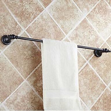 Tyč na ručníky Vysoká kvalita Starožitný Mosaz 1 ks - Hotelová koupel 1-ručník