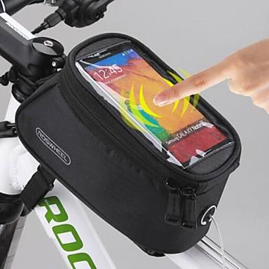 ROSWHEEL Cell Phone Bag / Váztáska 5.5 hüvelyk Vízálló, Érintőképernyő Kerékpározás mert Samsung Galaxy S6 / LG G3 / Samsung Galaxy S4