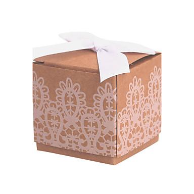 kubisch Kartonpapier Geschenke Halter mit Spitze Geschenkboxen