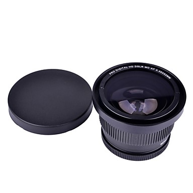 52mm 0.35x Super Fisheye Wide Angle Lens for Cannon Nikon Sony Fuji kameraer