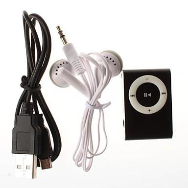 Mini Clip Stik ind Mikro Sd Kort Tf Kortlæser Mp3 Musikafspiller (Assorterede Farver)