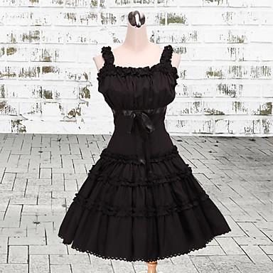 Lolita Stil Gotic Prințesă Pentru femei jsk / Jumper Skirt Cosplay Fără manșon