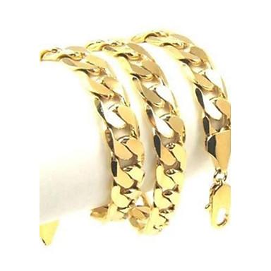 Unisex Ketten - vergoldet Retro Gold Modische Halsketten Schmuck Für Party