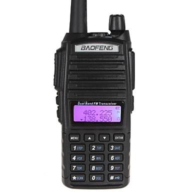 tanie Krótkofalówki-baofeng uv-82l ręczny dwuzakresowy 1800 mah dwukierunkowy radio szynka ręczny walkie talkie z podwójnym ptt + kabel do programowania + głośnik