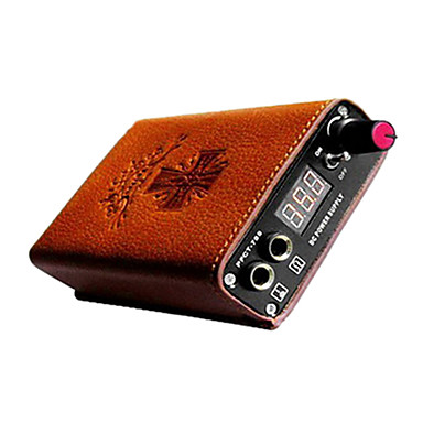 Mini LCD Tattoo Power Supply with Leather Sheath