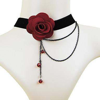 Coolshine Bride Bridesmaid Pearl Lace Necklace-2014-201-LS003