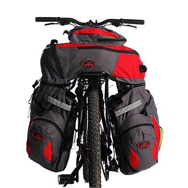 Велосумка/бардачок 60LСумка на багажник велосипеда/Сумка на бока багажника велосипеда Велоспорт Рюкзак Светоотражающая лента 3 В 1