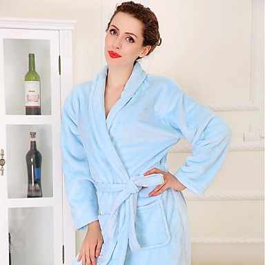 Fresh Style Bath Robe,Solid Superior Quality 100% Coral Fleece Woven Plain Towel