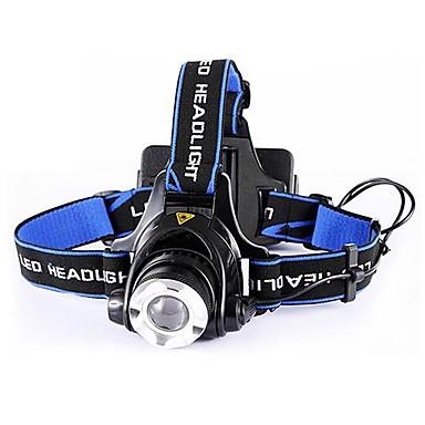 Belysning Pandelamper LED 4000 Lumen 1 Tilstand Cree XR-E Q5 18650 AA Nedslags Resistent Slag KantCamping/Vandring/Grotte Udforskning
