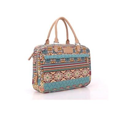 богемной тенденция холст дамы сумки женщин ноутбук посланник 15