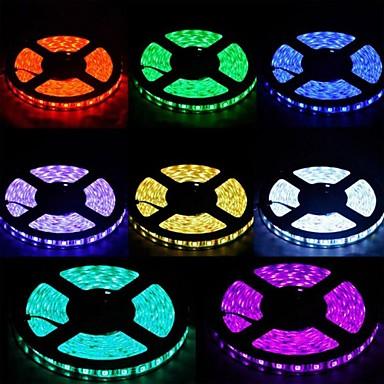 Waterproof 72W 300 x SMD 5050 LED RGB Flexible Light Strip (5M)