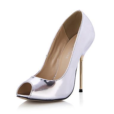 Women's Stiletto Heel Peep Toe Pumps Shoes