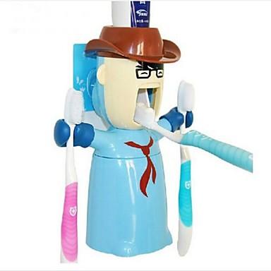 Suport Perie Dinți Gadget Baie Novelty Contemporan Plastic