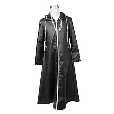 Inspired by Kingdom Hearts Cosplay Video Game Cosplay Costumes Cosplay Suits Solid Colored Cloak Costumes