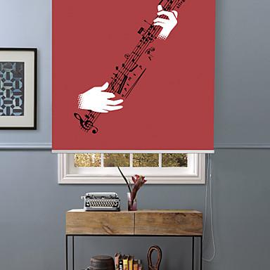 abstrakt glæde af at spille guitar rullelejer skygge